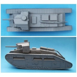 FCV06 Medium C `Hornet` Male Tank with 6pdr Gun.