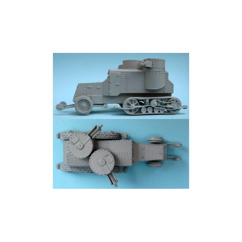FCV12 Putilov automitrailleuse semi-chenillée