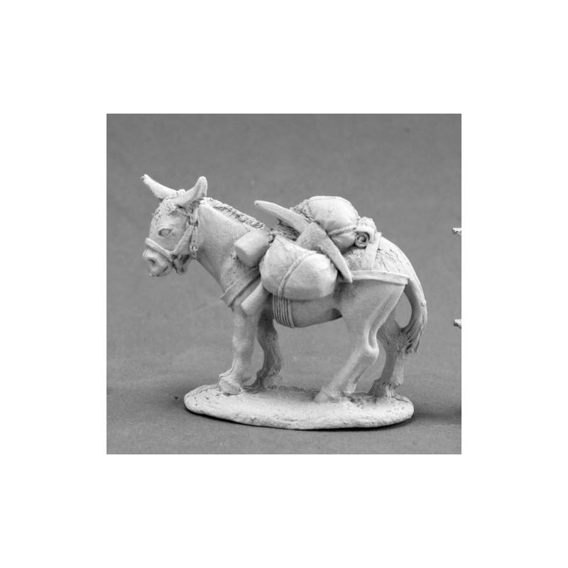 03671 Mule chargée