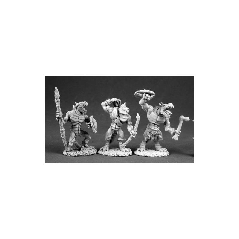 03551 Homme-lézards II