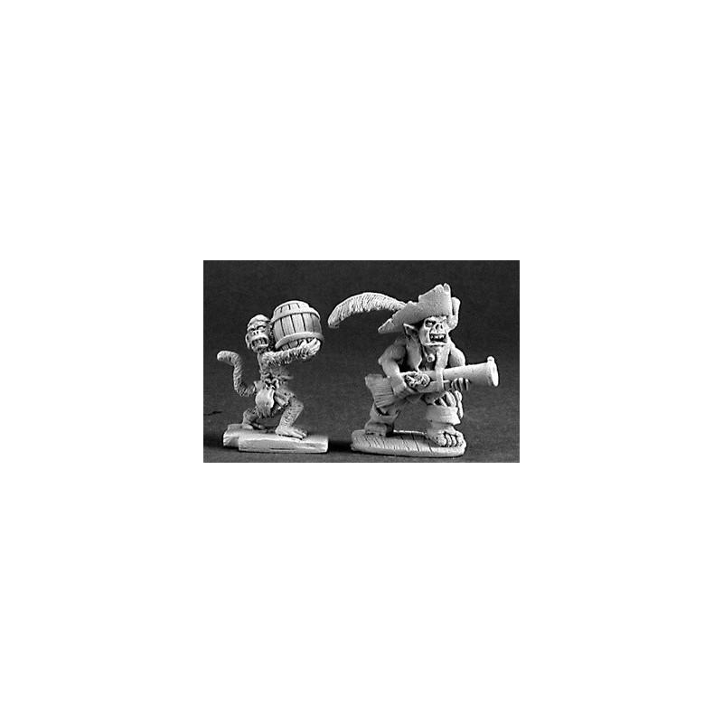 03211 Pirate gobelin avec son singe