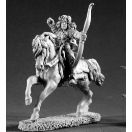 02239 Archère à cheval