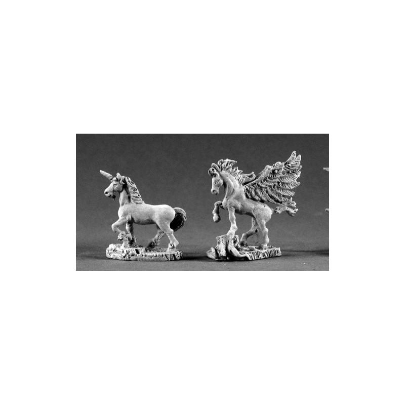 02207 Licorne et pégase