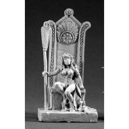02083 Reine barbare sur son trône