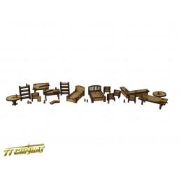 Set de meubles et accessoires