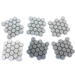 Dalles hexagonales
