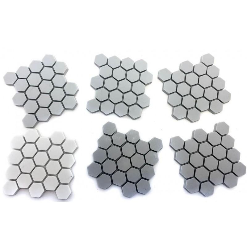 Dalles hexagonales