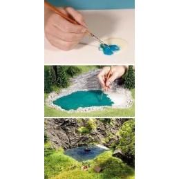 60875 Couleurs d'eau 100ml  + 30ml couleurs (à froid)