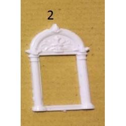Fenêtre renaissance 2 (2,2cm x 3,5cm)