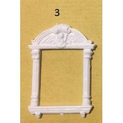 Fenêtre renaissance 3 (5cm x 3,6cm)