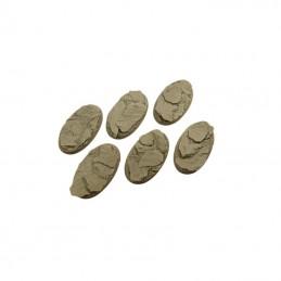 Bases ovales de 60mm
