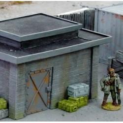 Blockhaus/poste de garde