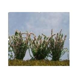Buisson fleuri mixe (blanc, rose)