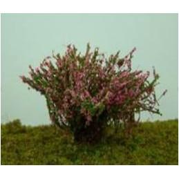 Buisson fleuri rose foncé
