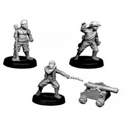 CCP008 Artilleurs et canon