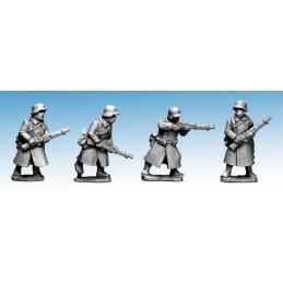 WWG171 - Infanterie en manteau avec fusils