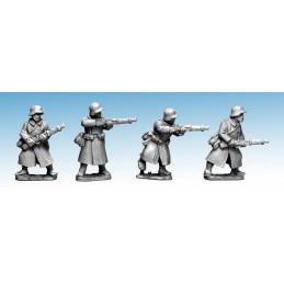 WWG172 - Infanterie en manteau avec fusils II