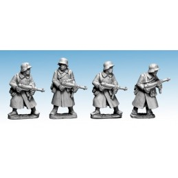 WWG174 - Infanterie en manteau avec SMG