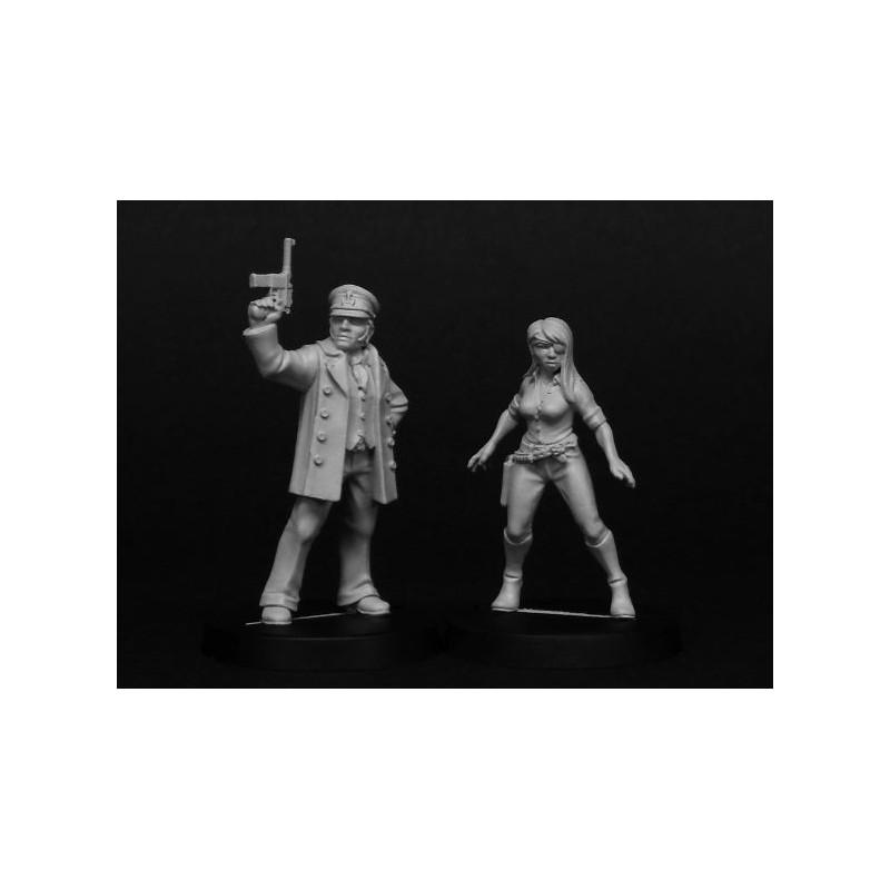 1401 - Capitaine Wolf & Minerva
