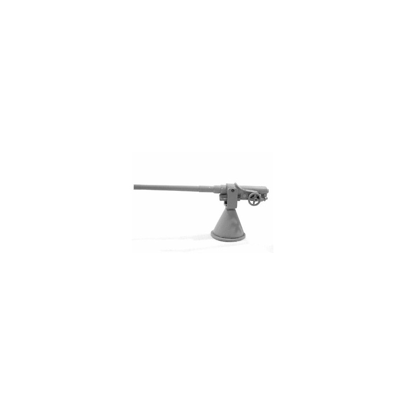 HNW03 12 Pounder Hotchkiss Gun sur support conique