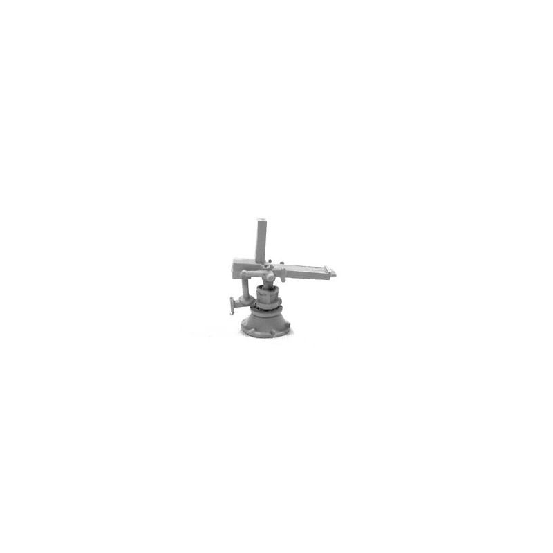 HNW06 Mitrailleuse Nordenfelt sur piédestal