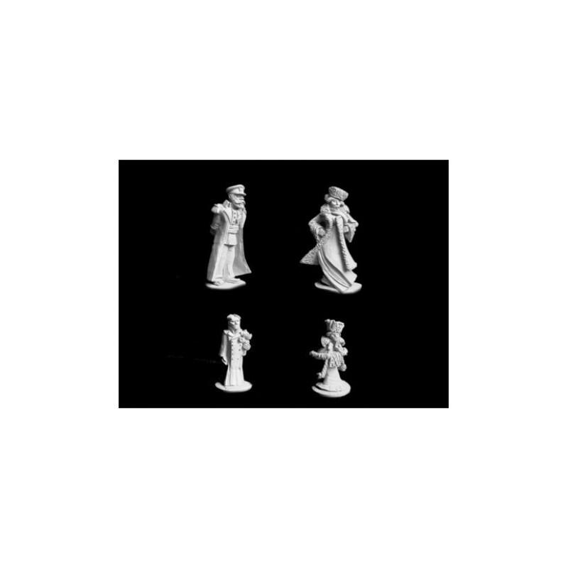 GHR0002 - Tsar Nicolas, la Tsarine et leurs 2 enfants