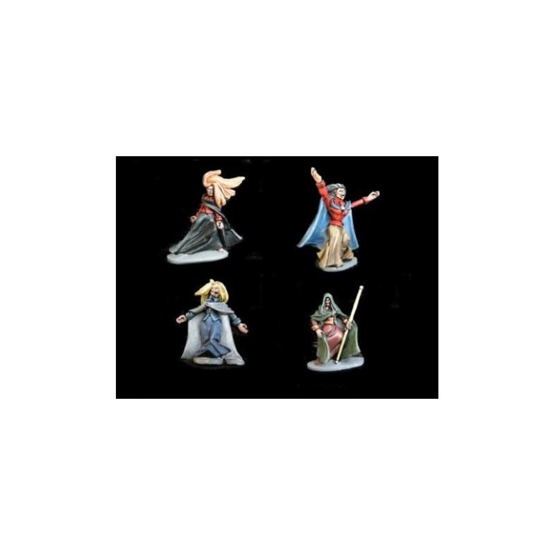 GHW0002 - Les cousines du collège de magie (sorcières)