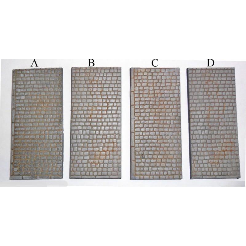 AOTD-03 40 x 90mm base rectangulaire avec pavés