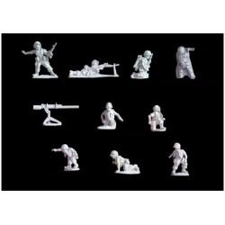 NAM002 - US MARINE / Commandement d'infanterie + armes de soutien