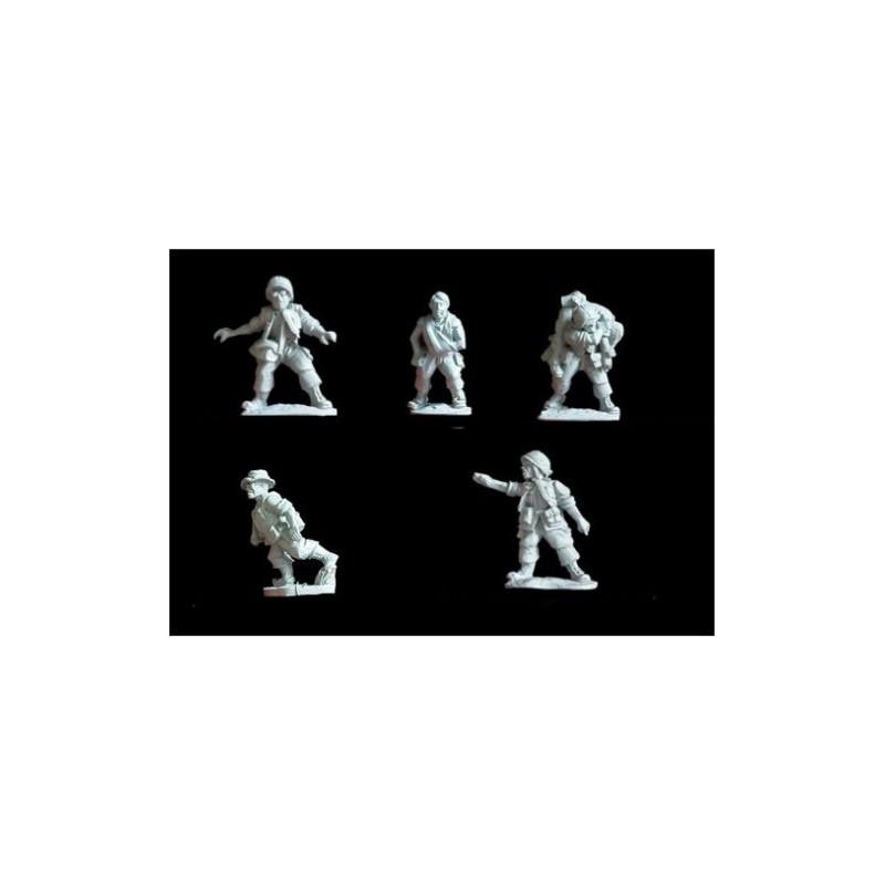 NAM008 - USMC/ infanterie infirmiers et blessés