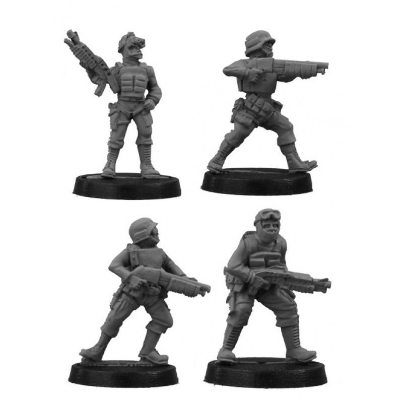 GRK019 - S.W.A.T. avec fusils à pompe