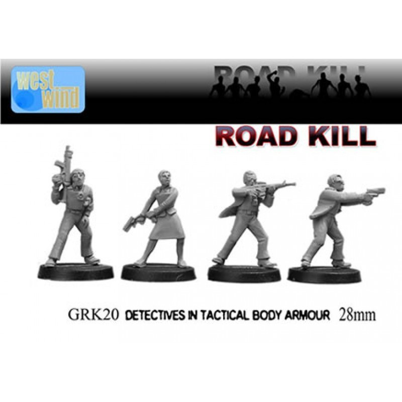 GRK020 - Détectives en gilet pare-balles