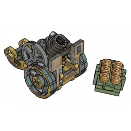 Artillerie légère avec munitions