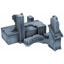 Ruines impériales - points d'accès