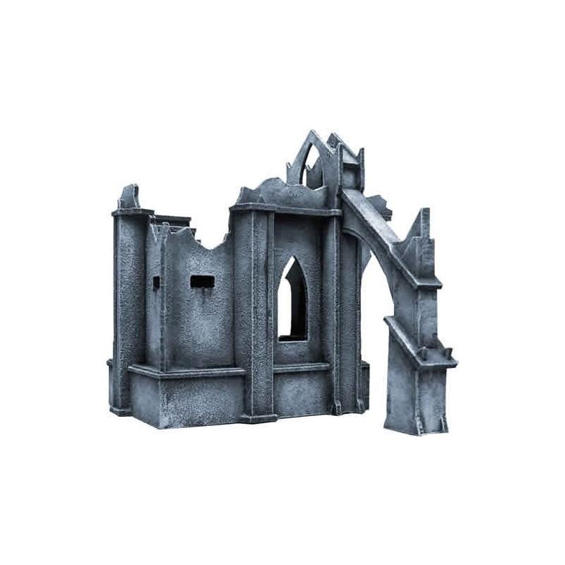 Ruines impériales - coin de mur