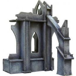 Ruines impériales - Mur droit