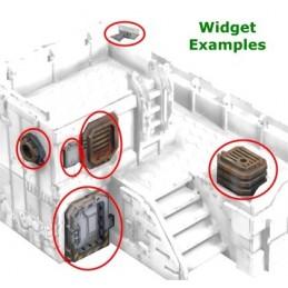 Accessoires pour bâtiment (caméra, ventilations, etc.)