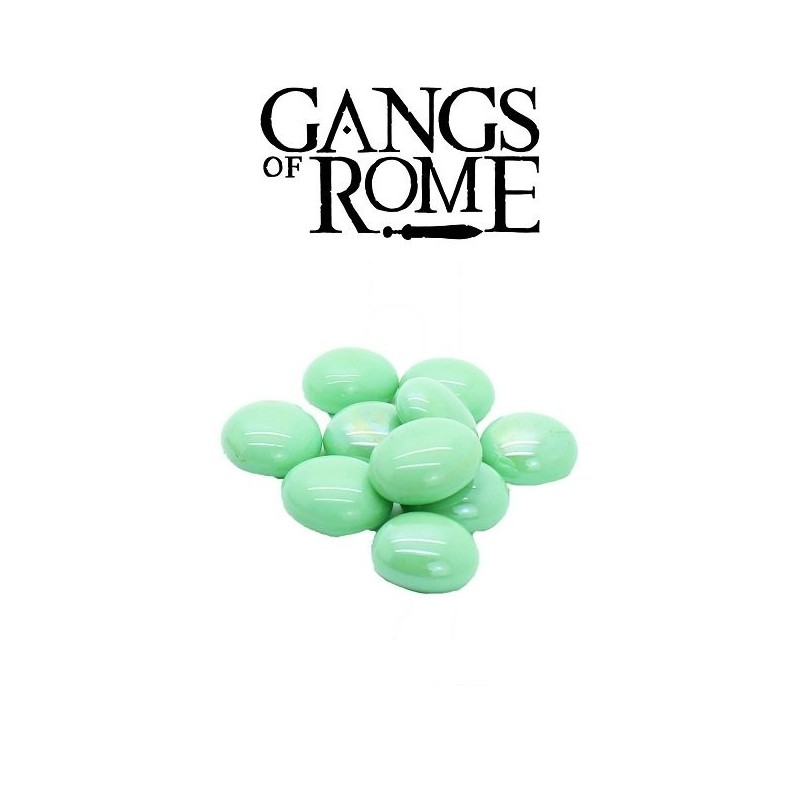 Perles d'activation vertes