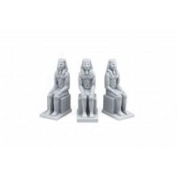 Statues de pharaons