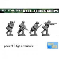 WAF01 Infanterie avec fusils