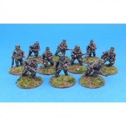 44WGER01 - Infanterie avançant