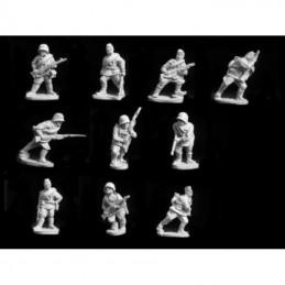 WRUS01 - Infanterie avançant