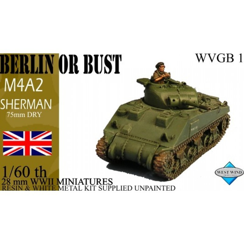 WVGB01 -  Sherman M4A2 75MM Dry