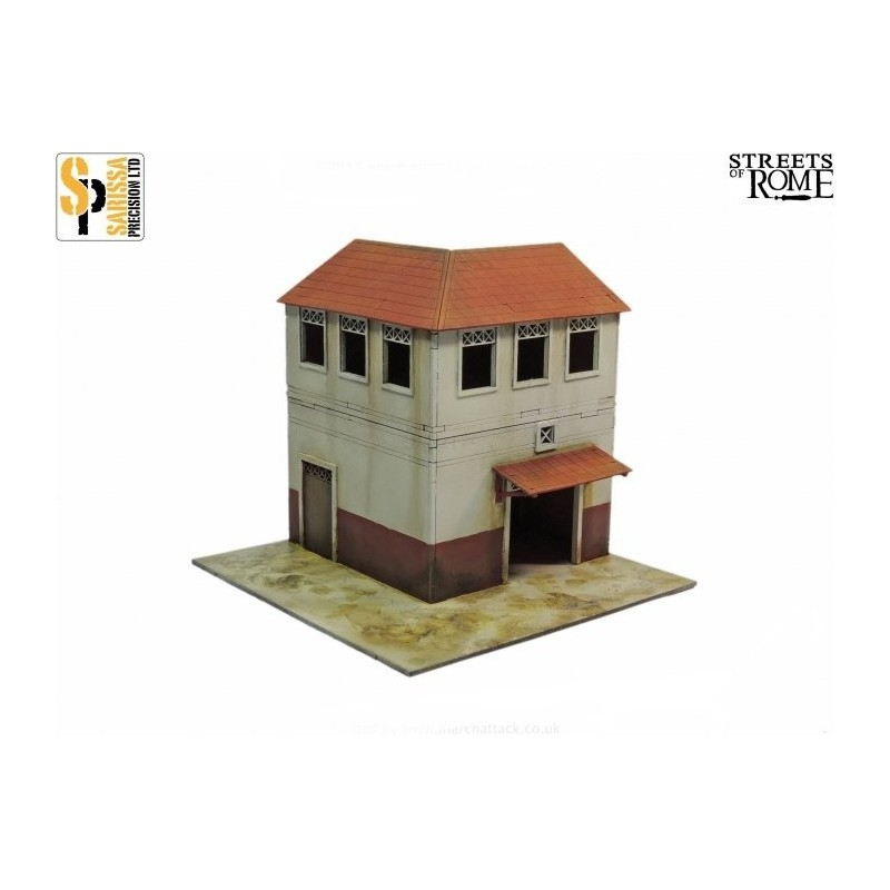 T004 - Coin d'insula (habitat urbain) de rang inférieur