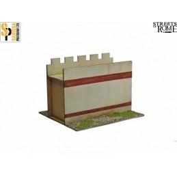 T012 - Mur court
