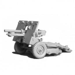 WVGB04 - Obusier de 25 Pdr  avec chariot et servants
