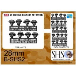B-SHS2 - Infanterie en casques camouflés