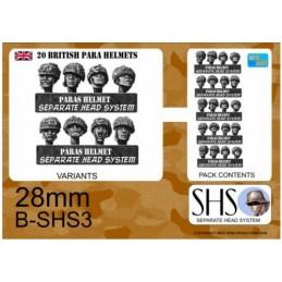 B-SHS3 - Parachutistes en casques