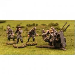 WVG08 - Canon anti-aérien 20mm Flak Vierling Quad et ses servants