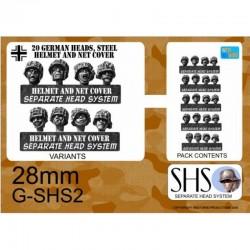 G-SHS2 - Infanterie en casques avec filets